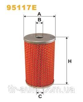Фильтр топливный КАМАЗ ( WIX ) 95117E