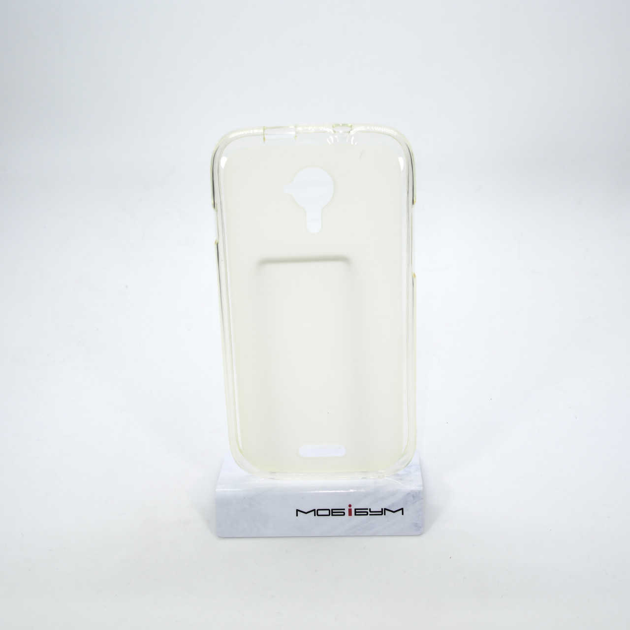 Чехол Silicon New Line X Fly iQ450 white Для телефона