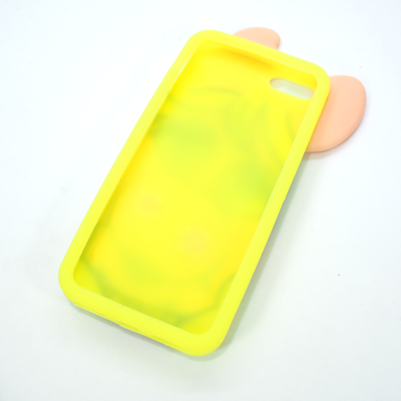 Silicon Moschino iPhone 5s SE Pig yellow Apple