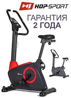 Велотренажер для постави HS-080H Icon red,Електромагнітна,13,Тип Вертикальный , Швидкість|Дистанція|Витрата калорій|Частота пульсу|Час, Вбудований,, фото 1