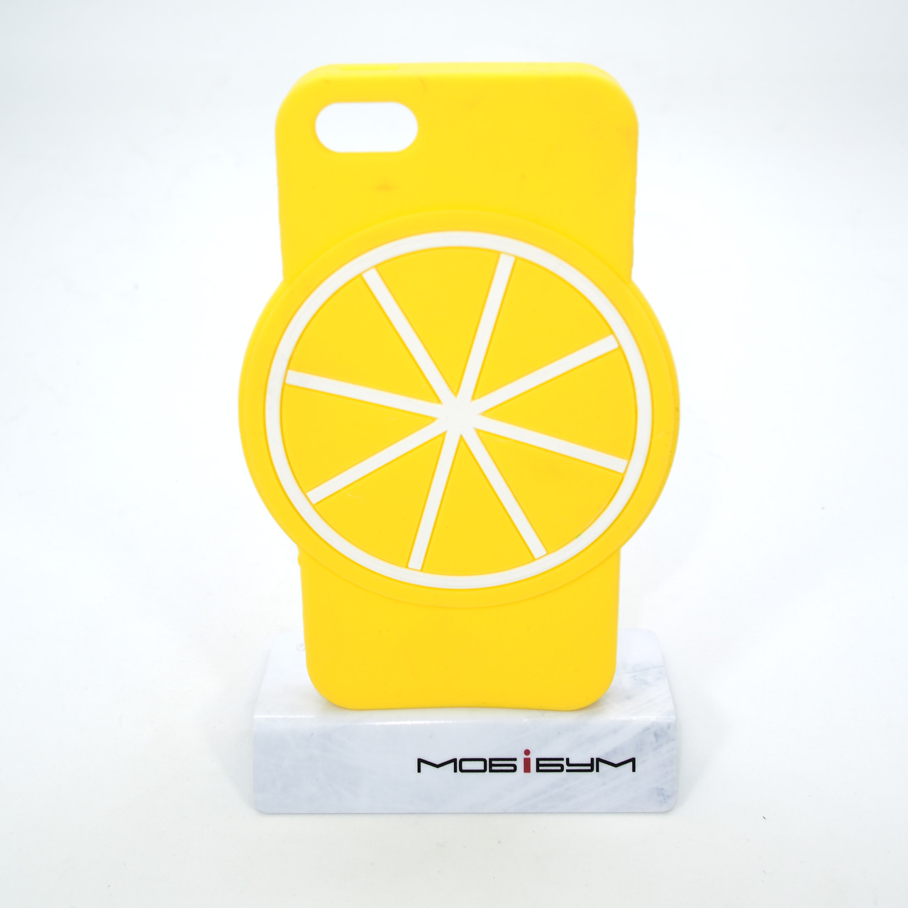 Чехол Silicone Fruit Phone 5s/SE Lemon