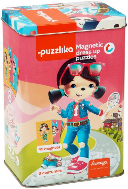 Магнитные пазлы Забавные Куклы