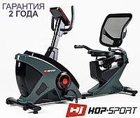 Велотренажер для дома HS-070L Helix,Магнитная,8,5,Тип Горизонтальный , Скорость|Дистанция|Расход калорий|Частота пульса|Время, 48, BA100, Регулировка
