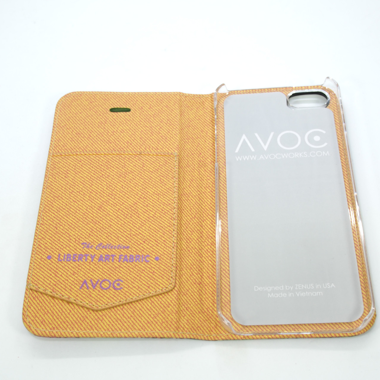 AVOC Liberty Diary iPhone 5s Osbornes Apple SE Для телефона Чехол
