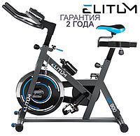 Підлоговий велотренажер Elitum SX900 ,Генераторна,13,5,Тип Вертикальный , 42, 130, BA100, Домашнє, Вбудований, Батарейки, фото 1