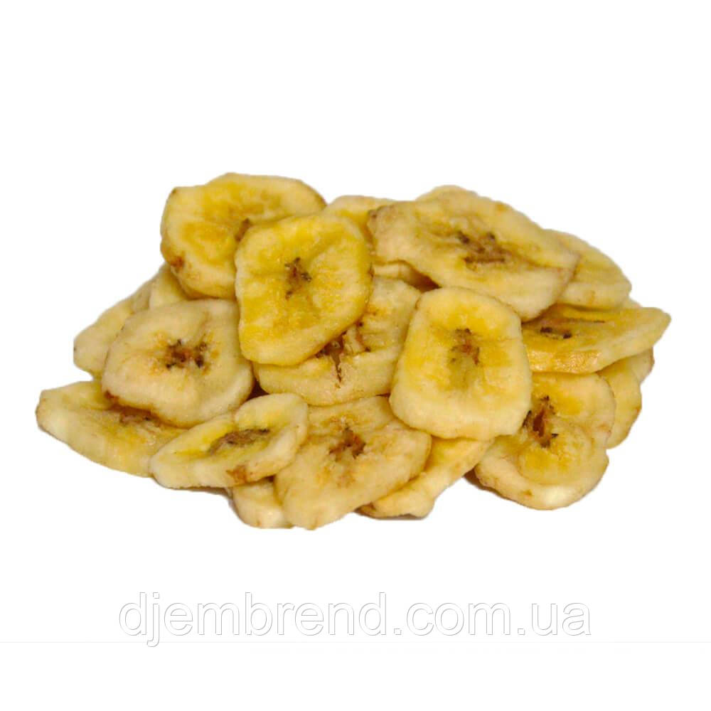 Банановые слайсы сушеные, 100 г