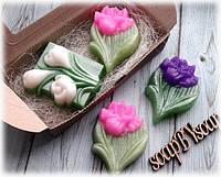 """Набор мыла """"Крокус и тюльпан"""", фото 1"""