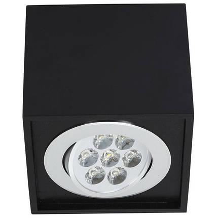 Потолочный светильник светодиодный NOWODVORSKI Box Led Black 6427 (6427), фото 2
