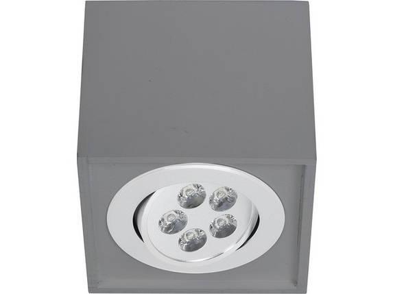 Потолочный светильник светодиодный NOWODVORSKI Box Led Gray 9630 (9630), фото 2