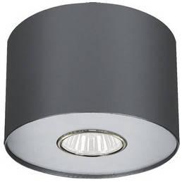Потолочный светильник светодиодный NOWODVORSKI Point Graphite Silver/Graphite White 6006 (6006), фото 2