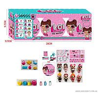 """Кукла L.O.L. в шаре 3шт в коробке Секретные послания, """"Сестрички"""" аналог JL 18570"""