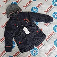Весенние куртки  на флисе для мальчиков оптом GRACE