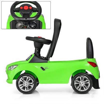 Толокар Bambi Mercedes M 3147C (MP3)-5, Зеленый с MP3, свет фар и музыка, фото 2