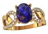 Кольцо  женское серебряное Romance 111 940, фото 2