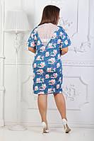 Женское модное платье ЕО079(бат), фото 1