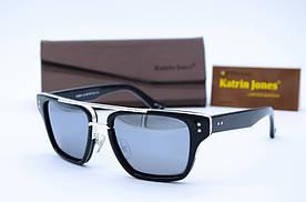 Мужские фирменные солнцезащитные очки Клабмастер Katrin Jones 1101 зеркало