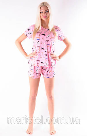 Молодежная пижама 122-91, фото 2