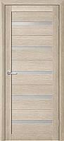 Дверь FLORA с матовым стеклом (Акация)
