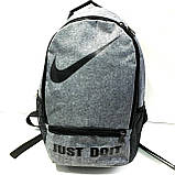 Рюкзаки спортивные текстиль с мягкой спинкой Nike (синий)30*38см, фото 2
