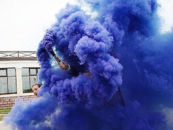 Кольоровий дим, набір 5-ть шашок+подарунок, димові шашки, ТМ Maxsem, довга рукоятка, 60 секунд - фото 6