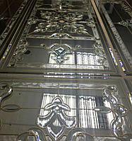 Витражный потолок на зеркале