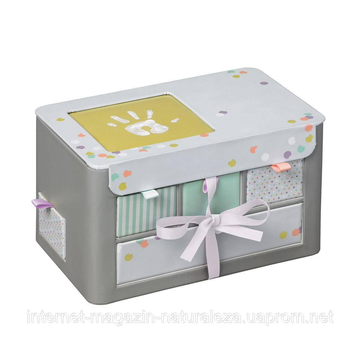 Подарок новорожденному Baby Art Шкатулка памяти Treasures Box New!
