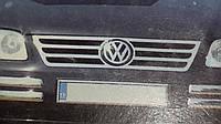 Накладки на углы бампера Volkswagen Caddy (2004-2009)