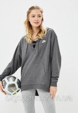 Кофта жен. Nike W Nsw Club Hoodie Laceup (арт. 929531-071), фото 1