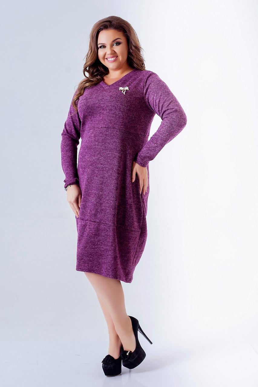 42db65e7cf0 Платье для полных женщин Ангора софт Размер 50 52 54 56 58 60 62 64 ...