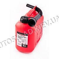Канистра для бензина  5л., Carlife (CA5) пластик.