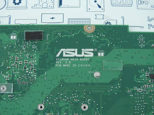 New. Материнская плата Asus X510UNR DIS i7-8550U 90NB0GS0-R00040, фото 2