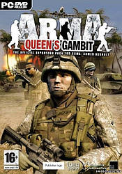 """Аддон """"Armed Assault - Queen`s Gambit"""" (Арма - Ответный ход) для компьютерной игры Armed Assault (PC) original"""