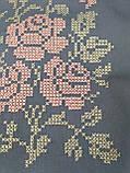 Текстильна сумка з вишивкою Шопер 27, фото 3