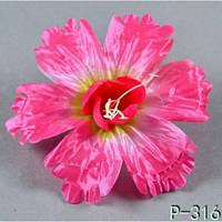 Гибискус NР 316 (100 шт./ уп.) Искусственные цветы оптом, фото 1