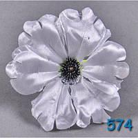 Головка Гибискуса  NР 574 (100 шт./ уп.) Искусственные цветы оптом, фото 1