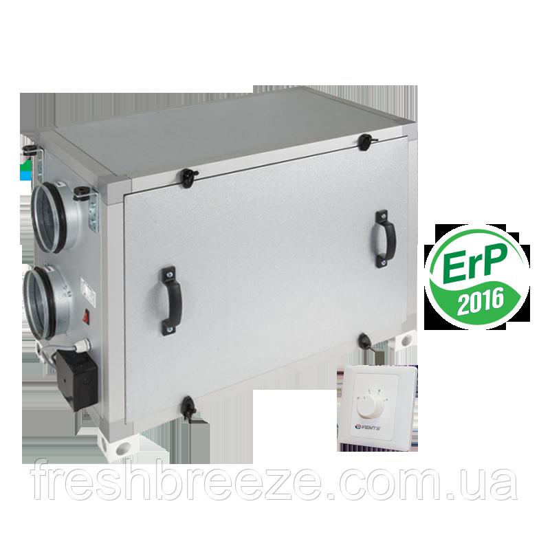Припливно-витяжна установка з рекуперацією тепла Вентс ВУТ 600 Г