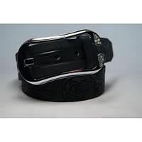 Ремень женский кожаный (черный) Andi 1049_042, фото 1