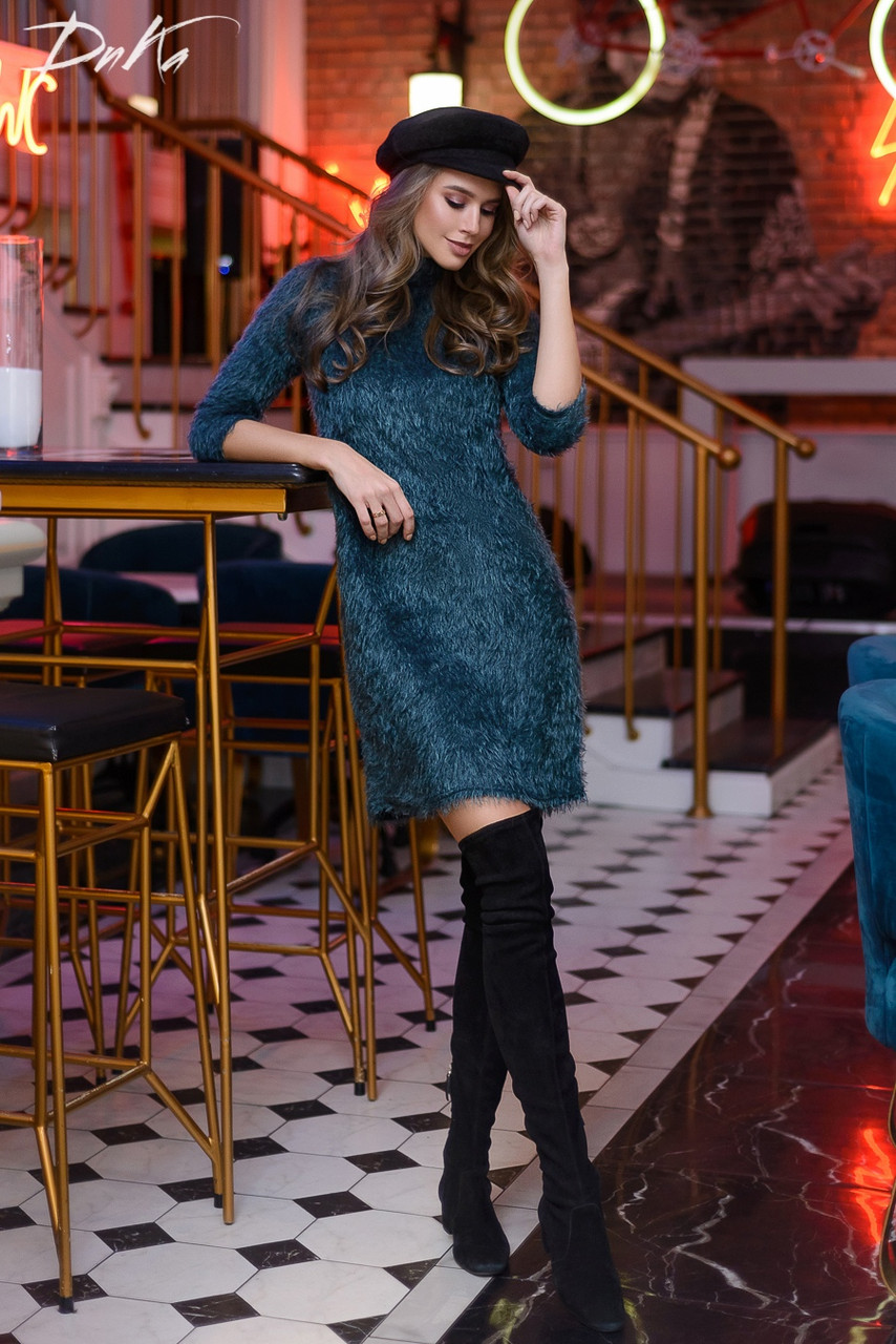 Сукня ангора в кольорах 04ат41216
