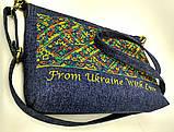 Текстильная сумка с вышивкой 6, фото 3