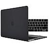 Чохол накладка Apple MacBook Pro 15 A1990 A1707 Touch with Bar, Touch ID 2018-2016 Захист чорний