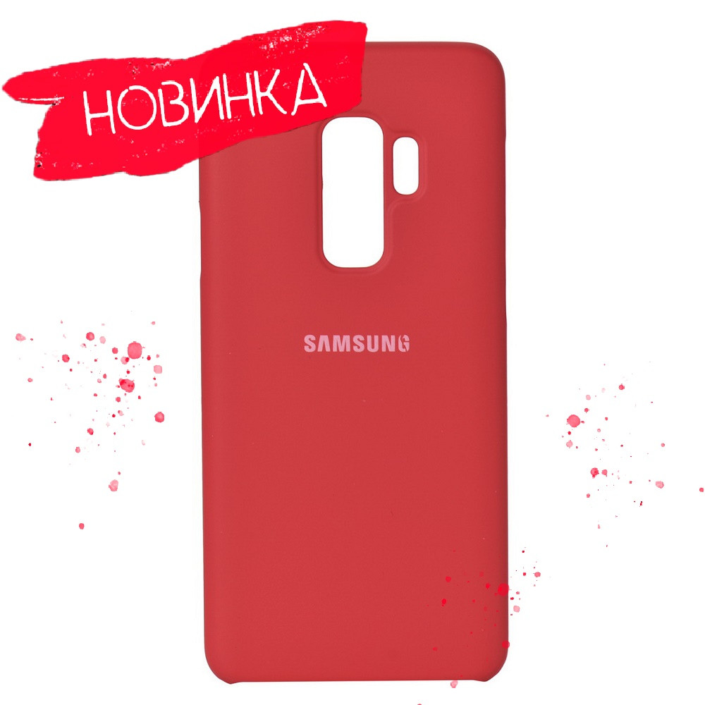 4 цвета Чехол Soft Touch Silicone Cover Samsung S9 Plus G965