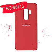 4 цвета Чехол Soft Touch Silicone Cover Samsung S9 Plus G965, фото 1