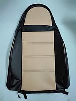 Чехлы на сиденья ГАЗ Москвич 412 (универсальные, кожзам, пилот)