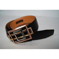Ремень мужской кожаный (черный) 155777_041, фото 1