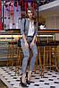 Брючний костюм клітка в кольорах 04с41204, фото 5