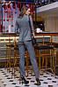 Брючний костюм клітка в кольорах 04с41204, фото 4