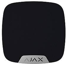 Сирена Ajax Беспроводная комнатная сирена HomeSiren, Jeweller, 105 дБ, 3V CR123A, черная