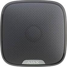 Сирена Ajax Беспроводная уличная сирена StreetSiren, Jeweller, 113 дБ, IP54, 3V CR123A, черная