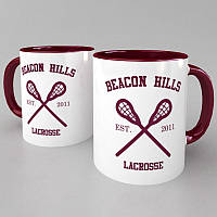 Чашка Beacon Hills (Teen Wolf) бордовый