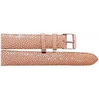Ремешок для часов женский из кожи ската 0710. STWS 04 SA Mink